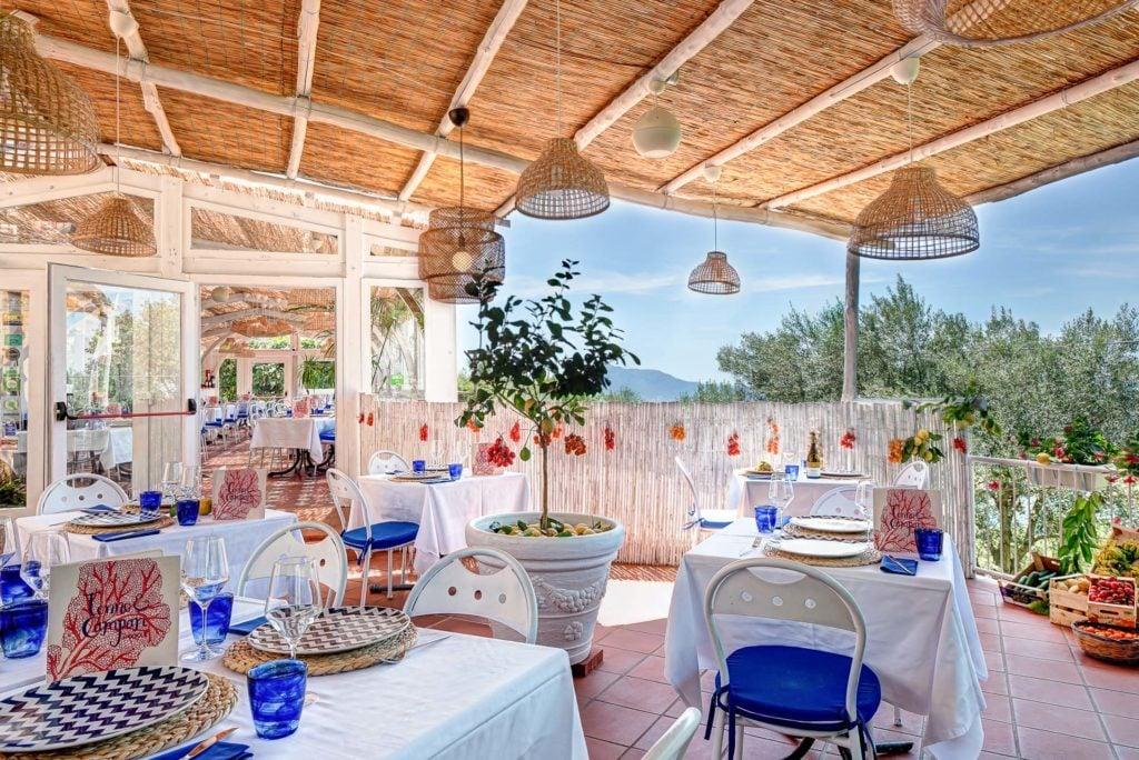 Tonno e Campari by Gocce - Restaurant Sorrento Coast