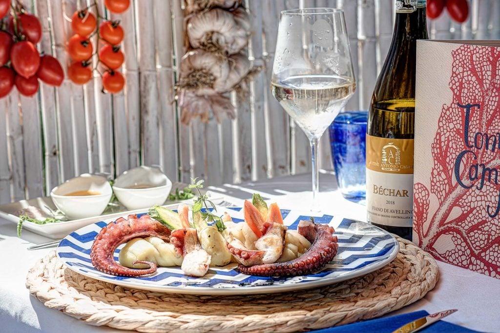 Sea Food Restaurant - Italian Chef - Tonno e Campari